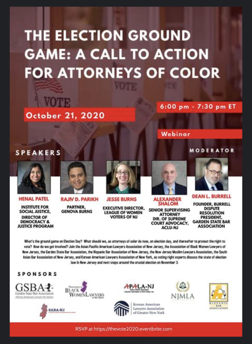 The Election Ground Game: A Call to Action for Attorneys of Color